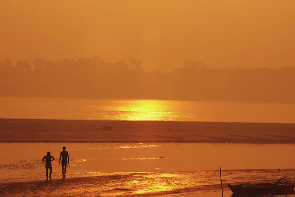 Ganges River Photograph - India, Bihar, Patna, Sonepur, Sonepur by Anthony Asael