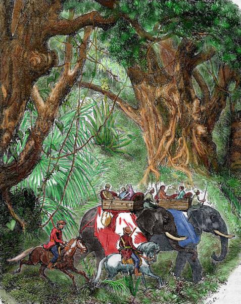 Delegation Photograph - India Sepoy Rebellion (1857 by Prisma Archivo