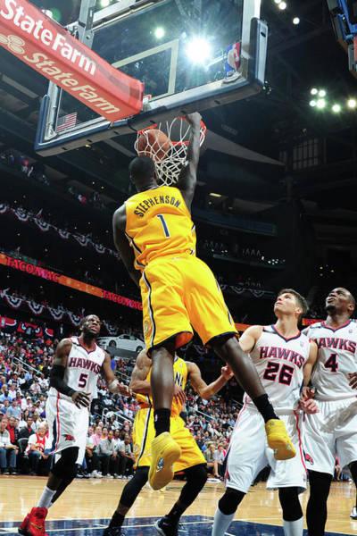 Atlanta Photograph - Indiana Pacers V Atlanta Hawks - Game by Scott Cunningham