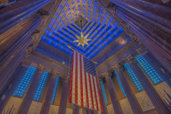 Photograph - Indiana War Memorial Shrine  by David Haskett II