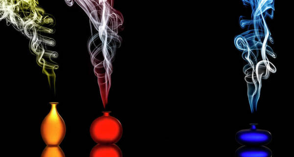 Abstract Smoke Photograph - Individuality by Renee Doyle