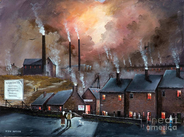 Painting - Industry In Netherton by Ken Wood