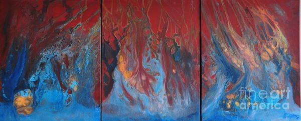 Inferno Series Art Print