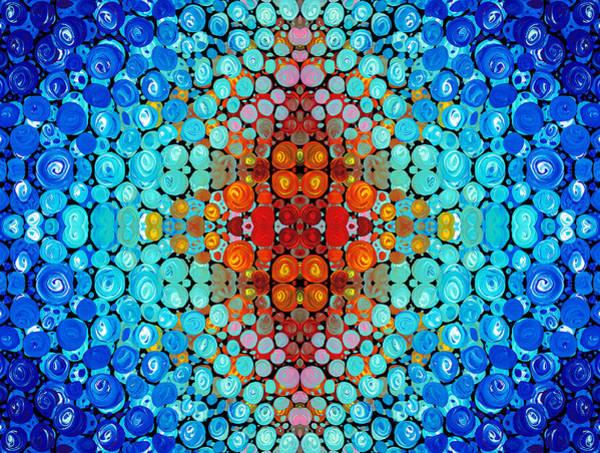 Dimension Wall Art - Painting - Inner Light - Abstract Art By Sharon Cummings by Sharon Cummings