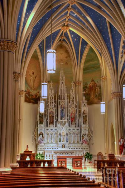 Photograph - Interior Of St. Mary's Church by Mark Dodd