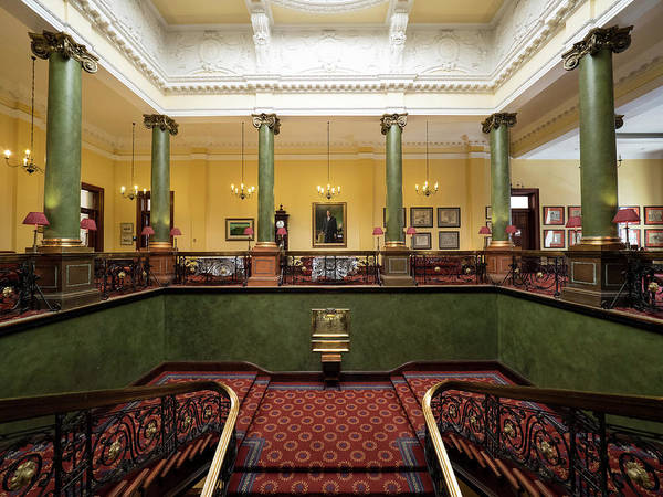 Johannesburg Wall Art - Photograph - Interiors Of The Rand Club, Loveday by Panoramic Images