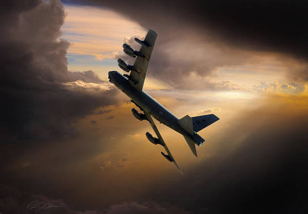 Boeing Digital Art - Into The Light by Peter Chilelli