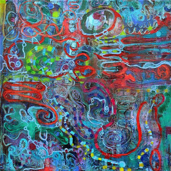 Painting - IPN by Regina Valluzzi