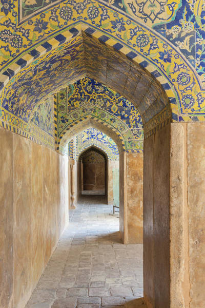 Wall Art - Photograph - Iran, Esfahan, Naqsh-e Jahan Imam by Walter Bibikow