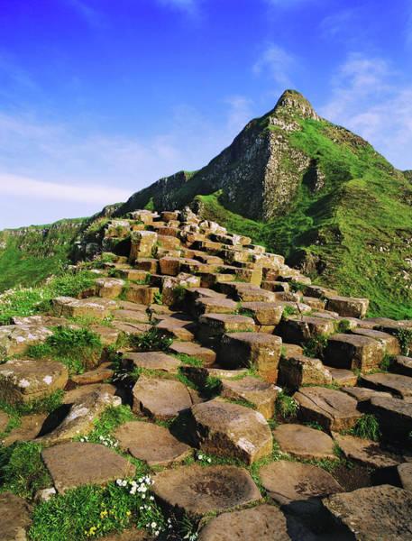 Basalt Columns Photograph - Ireland, County Antrim by Jaynes Gallery