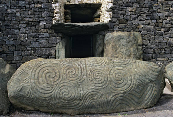 Mound Photograph - Ireland, County Meath, Newgrange by Jaynes Gallery