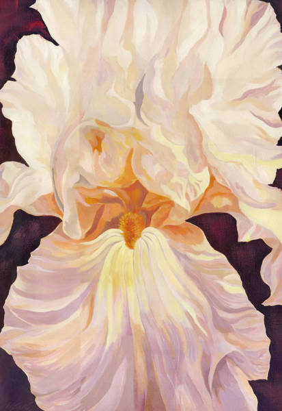 Painting - Iris In Pink by Alfred Ng
