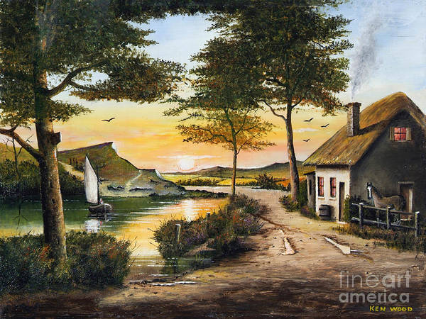 Irish Retreat Art Print