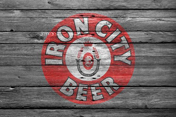 Pilsner Wall Art - Photograph - Iron City Beer by Joe Hamilton