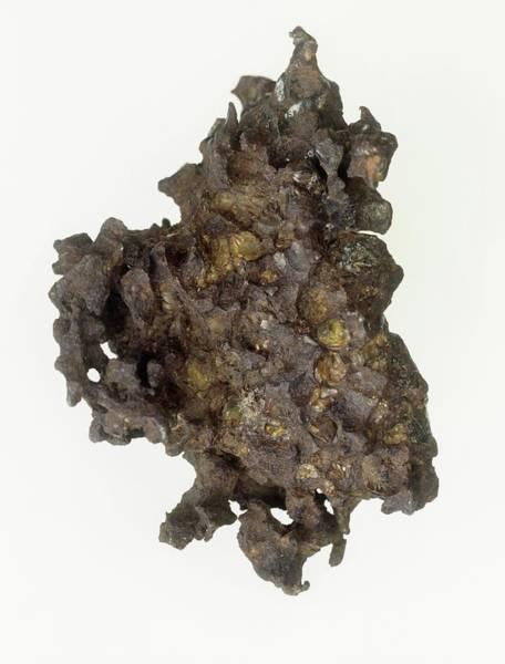 Dense Photograph - Iron Meteorite by Natural History Museum, London/science Photo Library