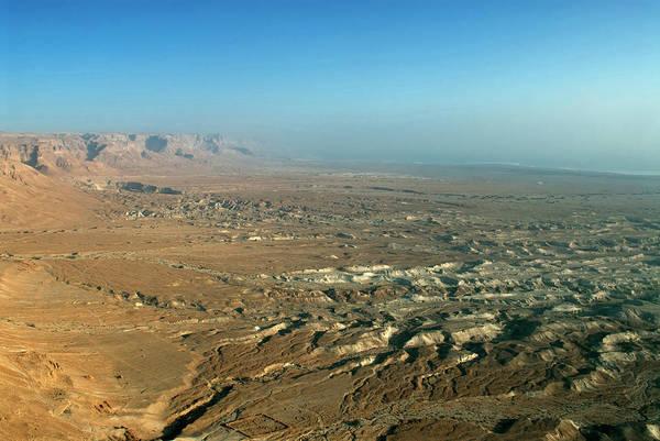Siege Photograph - Israel, Judean Desert, Dead Sea by David Noyes