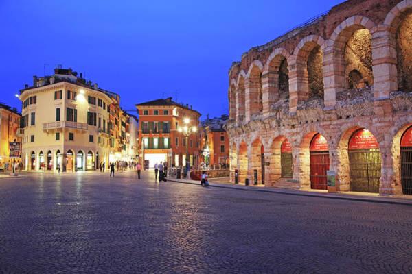 Old Photograph - Italy, Verona by Hiroshi Higuchi