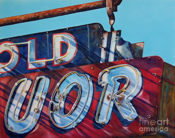 Painting - It's Five O'clock Somewhere by Greg and Linda Halom