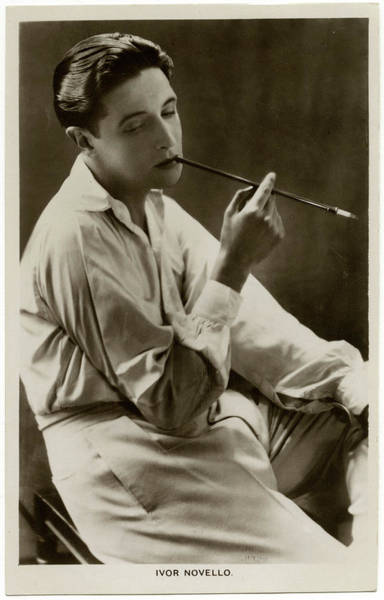 Wall Art - Photograph - Ivor Novello  (ivor Davies)  Welsh by Mary Evans Picture Library