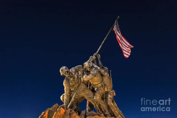Wall Art - Photograph - Iwo Jima Memorial by John Greim