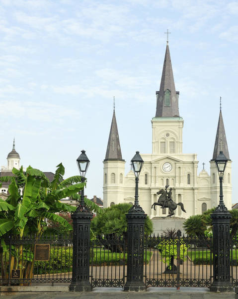 Photograph - Jackson Square New Orleans by Bradford Martin
