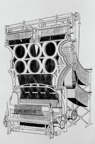Wall Art - Photograph - Jacquard Loom by Science Photo Library