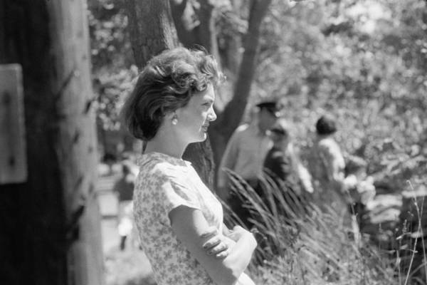 Photograph - Jacqueline Kennedy by Toni Frissell