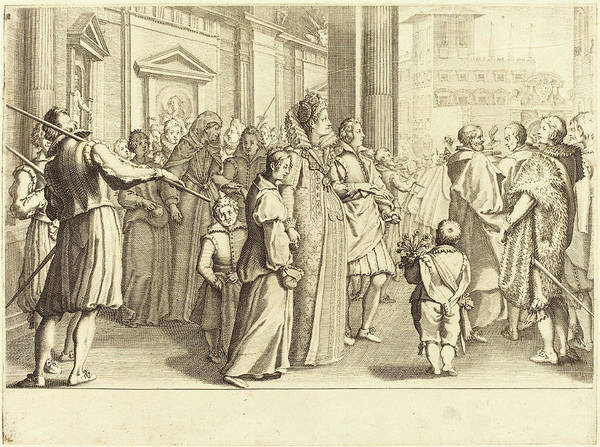 Wall Art - Drawing - Jacques Callot French, 1592 - 1635, Grand Duchess by Quint Lox