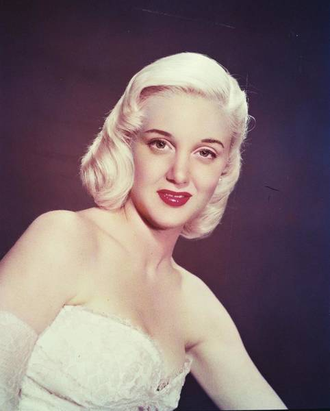 Sterling Silver Wall Art - Photograph - Jan Sterling by Silver Screen
