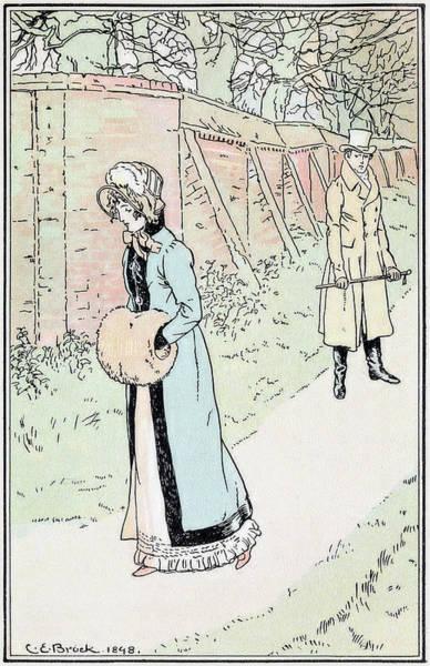 Wall Art - Drawing - Jane Austen Emma by Granger