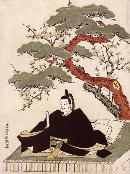 Wall Art - Painting - Japan Actor, C1770 by Granger