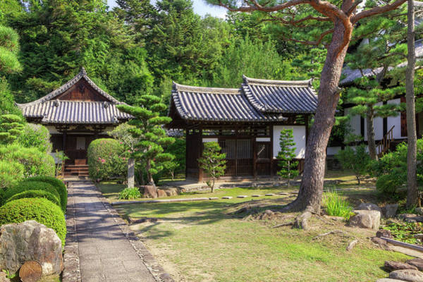 Nara Wall Art - Photograph - Japan, Nara Grounds Of The Shingon-in by Jaynes Gallery