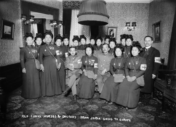 Delegation Photograph - Japan Red Cross by Granger