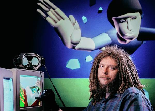 Redwood City Wall Art - Photograph - Jaron Lanier by Peter Menzel/science Photo Library