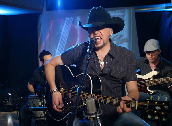 Starstruck Studios Wall Art - Photograph - Jason Aldean by Don Olea