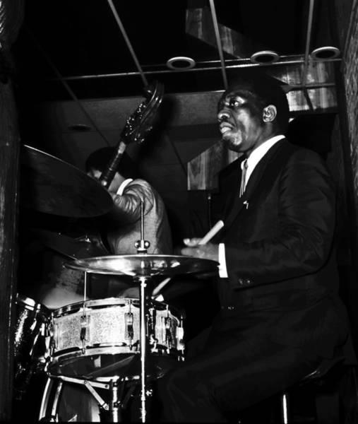 Wall Art - Photograph - Art Blakey Jazz Messenger by Dave Coleman