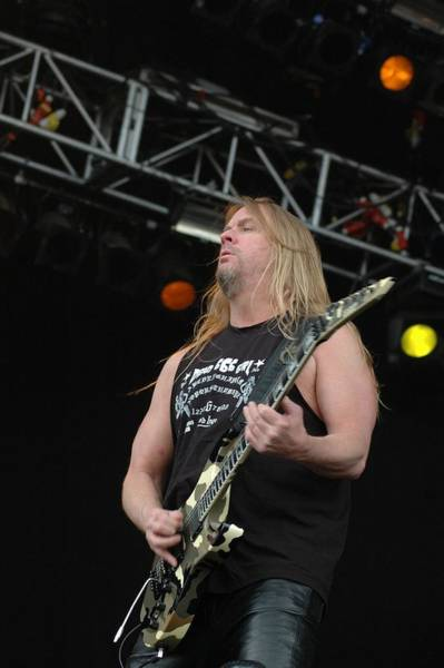 Jeff Hanneman Wall Art - Photograph - Jeff Hanneman- Slayer by Jenny Potter