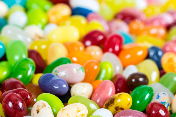 Jelly Belly Photograph - Jelly Beans by Classic Visions