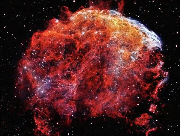 Jellyfish Nebula Art Print