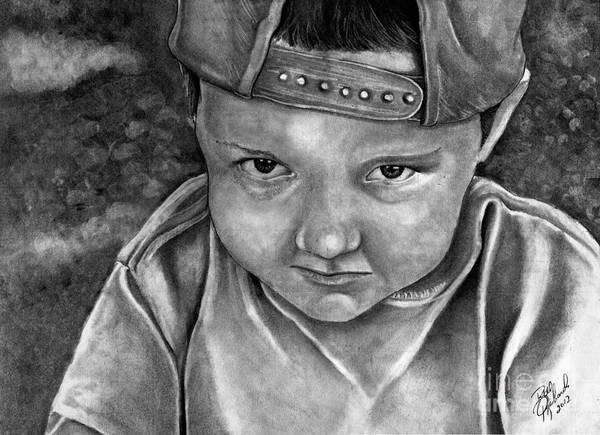 Drawing - Jeremiah by Bill Richards