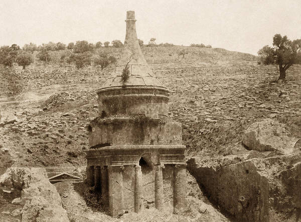 Wall Art - Photograph - Jerusalem Tomb Of Absalom by Granger