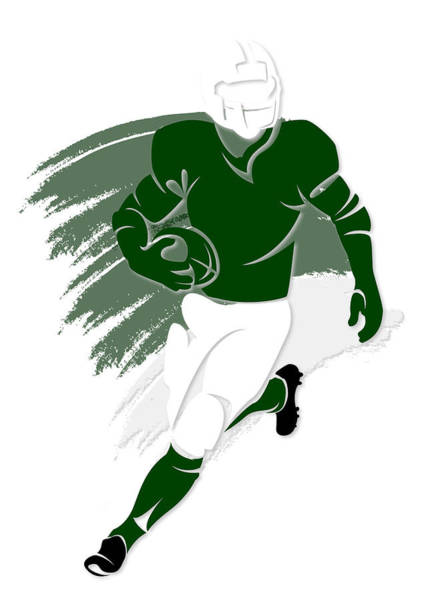 New York Jets Wall Art - Photograph - Jets Shadow Player2 by Joe Hamilton