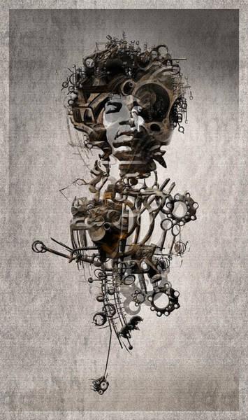 Wall Art - Digital Art - Jimi Hendrix by Andy Walsh