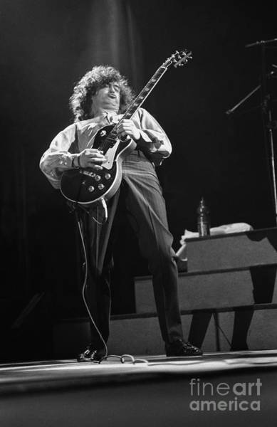 Jimmy Page Photograph - Jimmy Page by Concert Photos