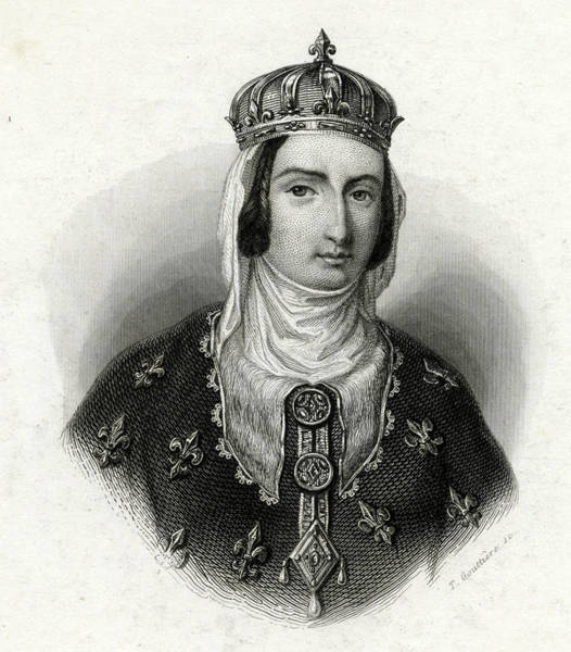 Wall Art - Drawing - Joan Of Navarre  Queen Of Henry Iv by Mary Evans Picture Library