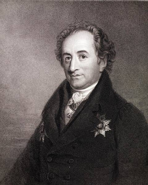 Evolution Photograph - Johann Von Goethe by Paul D Stewart