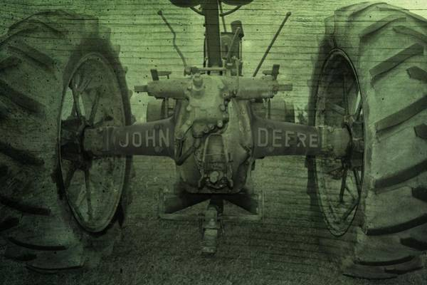 Big Boy Photograph - John Deere by Dan Sproul