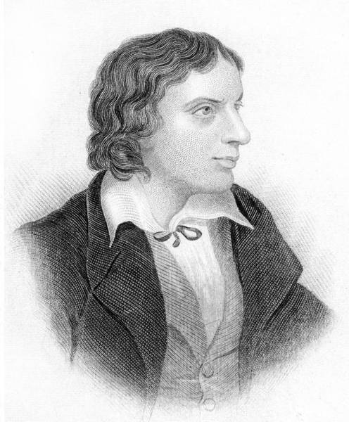 Wall Art - Drawing - John Keats  English Poet        Date by Mary Evans Picture Library