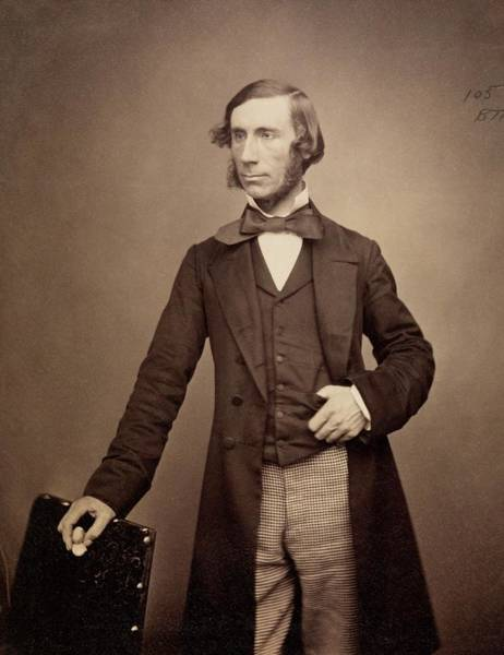 Diamagnetism Wall Art - Photograph - John Tyndall by Royal Institution Of Great Britain / Science Photo Library