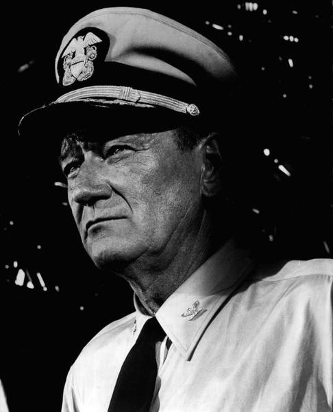 Duke University Photograph - John Wayne by Retro Images Archive